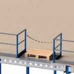 Palletverwerking: palletopzetplek